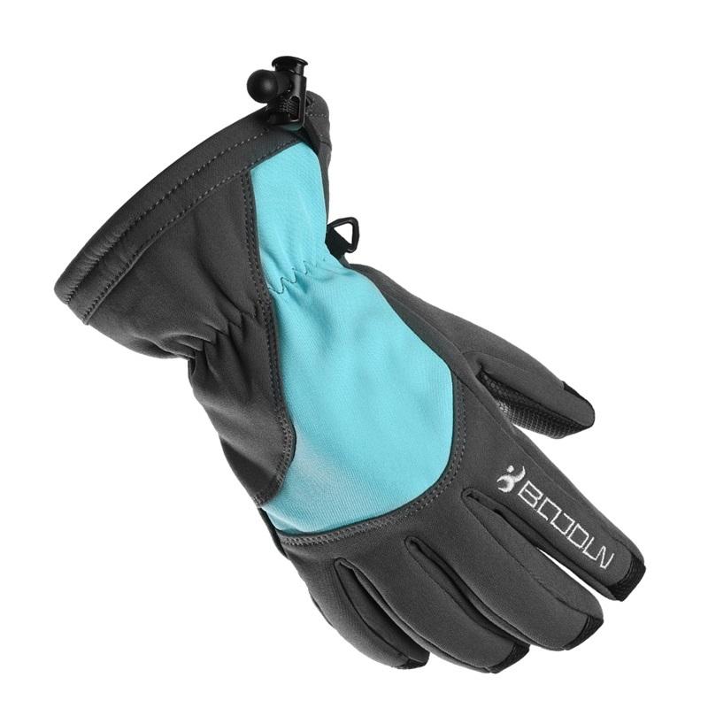 Перчатки для сноуборда Boodun grey blue, S
