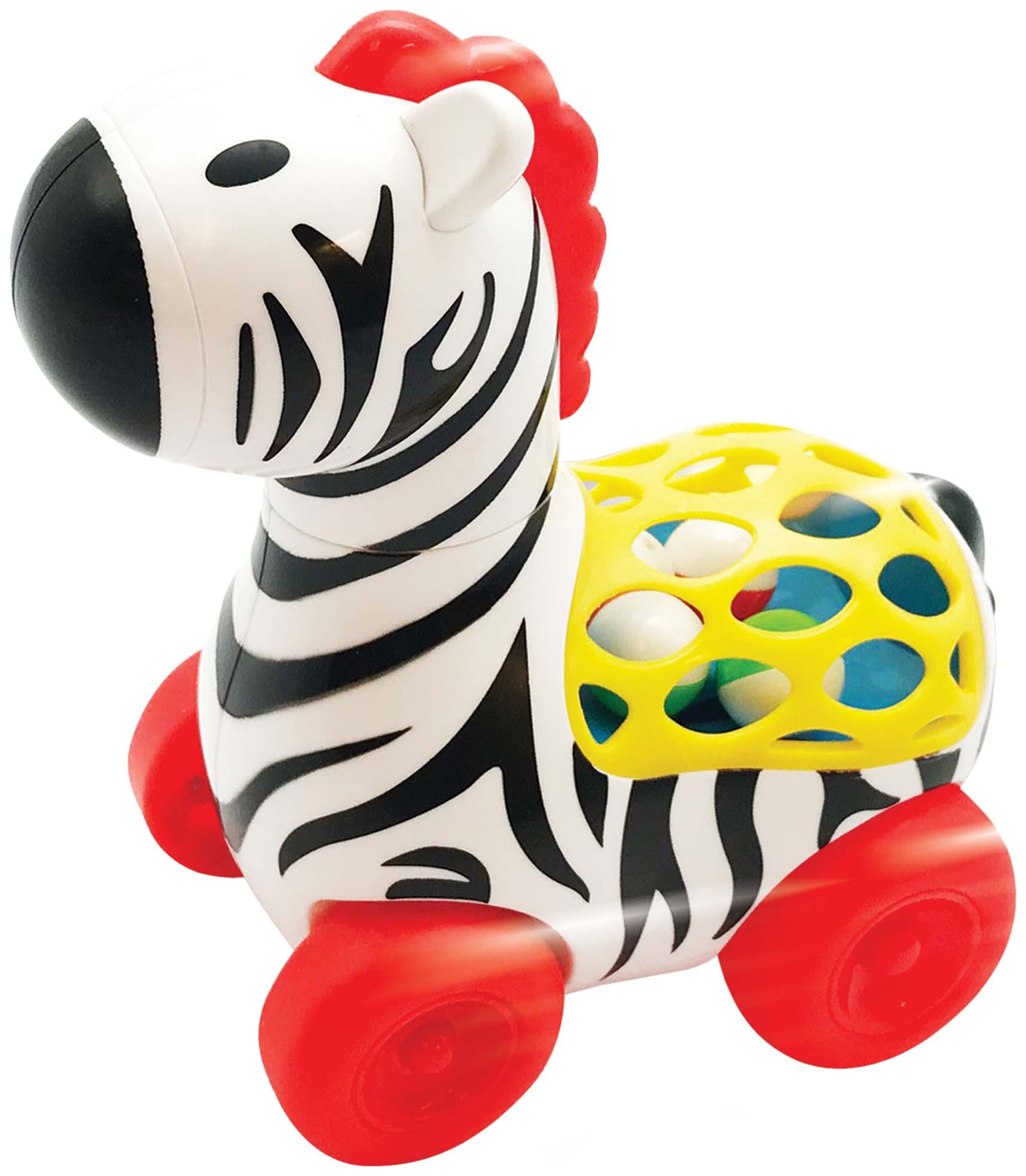 Развивающая игрушка Kiddieland Веселая Зебра KID 056812 фото