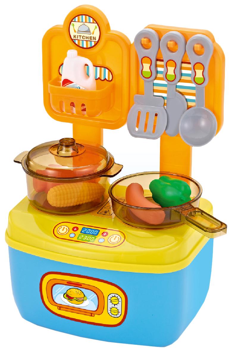 Купить Игровой набор Город Игр Большая кухня GI-6746 11 предметов, Детская кухня