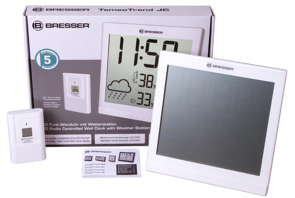 Метеостанция Bresser TemeoTrend JC LCD White