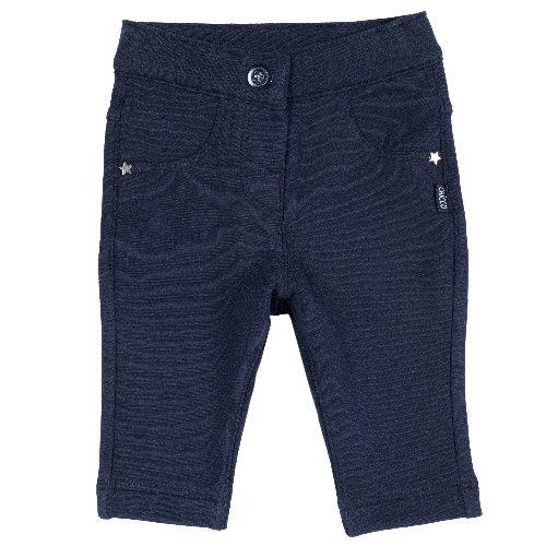 Купить 09024782, Брюки Chicco, р.86, цв. тёмно-синий, Детские брюки и шорты