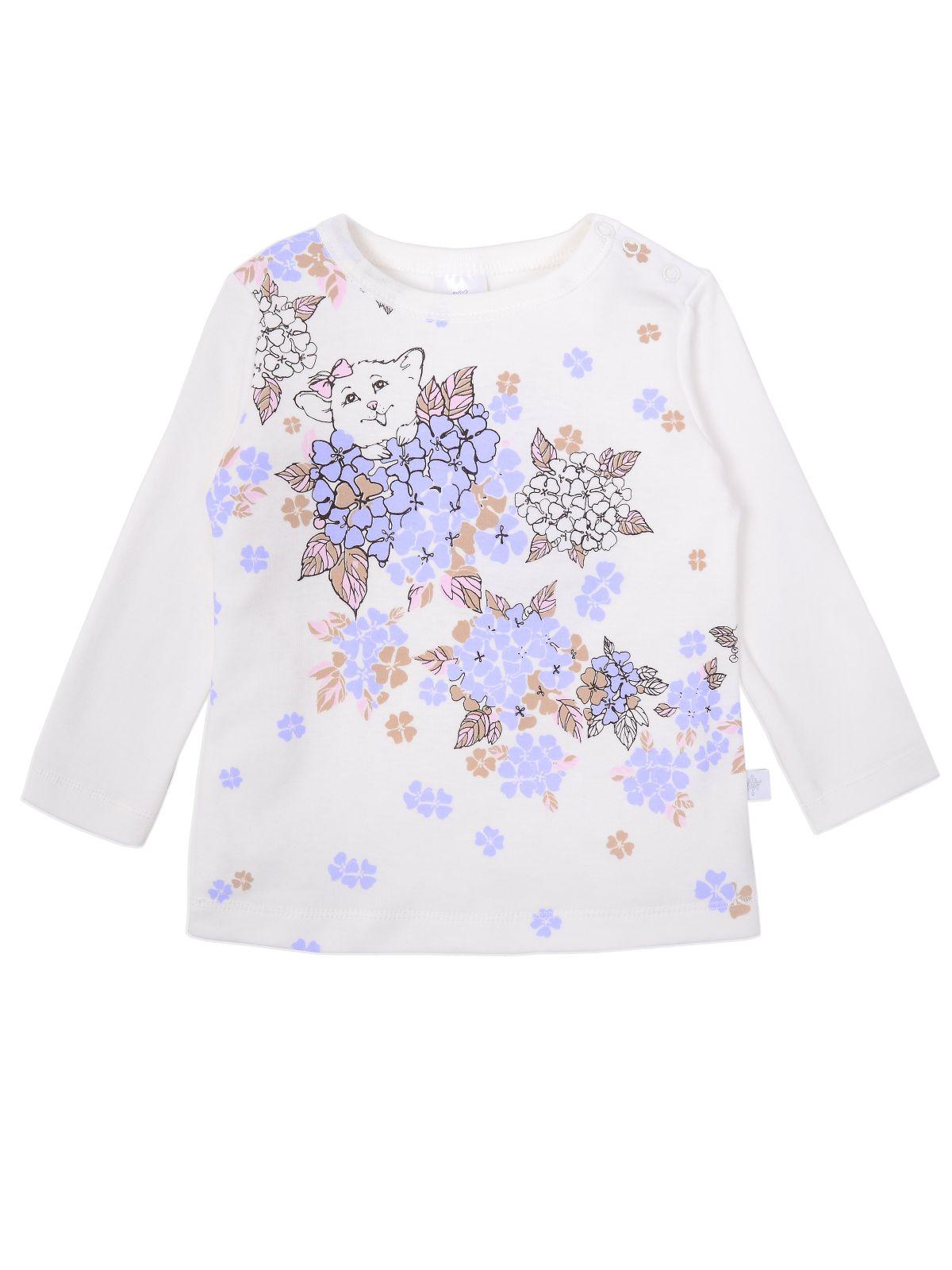 Купить Джемпер для девочки Мамуляндия 19-842 Интерлок, Молочный р.92, Кофточки, футболки для новорожденных