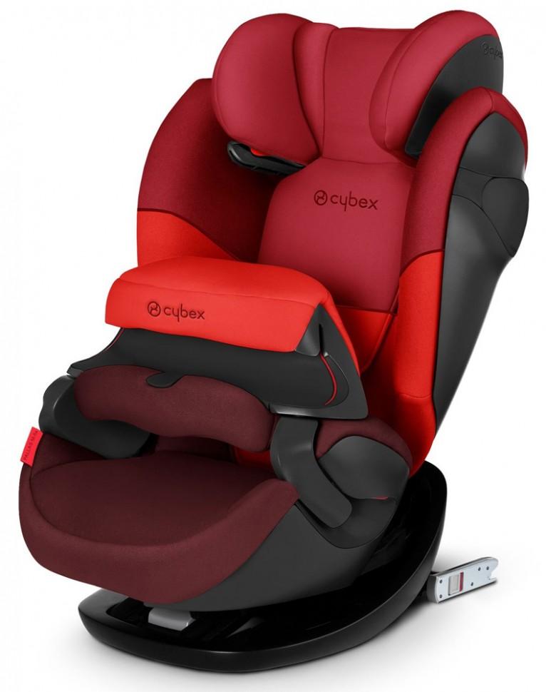 Купить Автокресло Cybex Pallas M-Fix Rumba Red группа 1/2/3, 9-36 кг, Детские автокресла