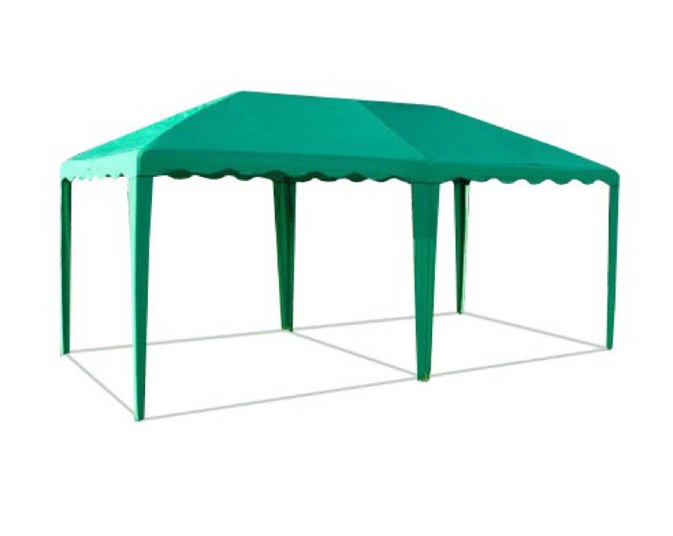 Шатер Митек Беседка зеленый 5 x 2,5 м