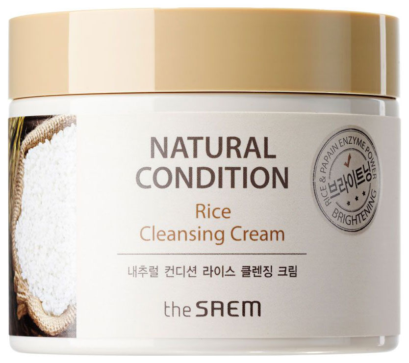 Купить Крем для лица The Saem Natural Condition Rice Cleansing 300 мл