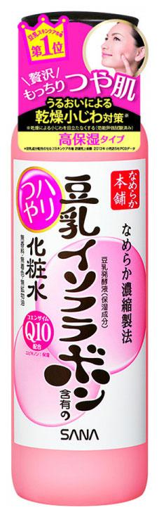 Лосьон для лица Sana Q10 Soy Milk Haritsuya