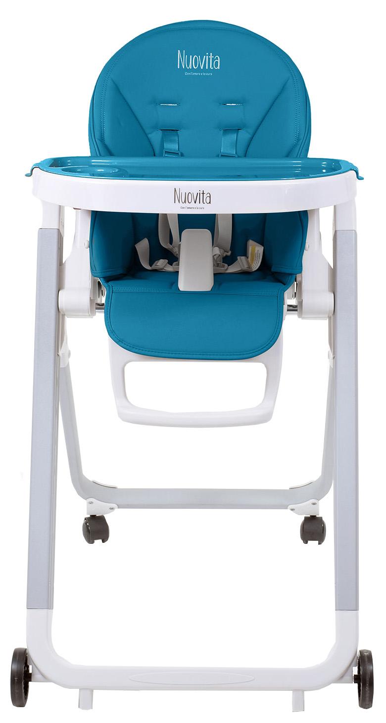 Стульчик для кормления Nuovita Futuro Senso Bianco Blu Синий