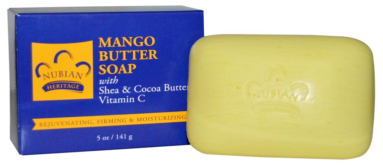 Косметическое мыло Nubian Heritage С маслом манго