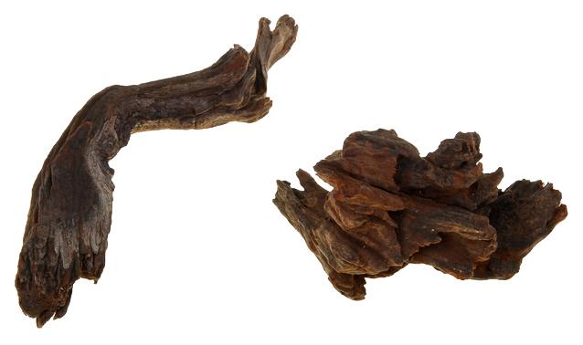 Коряга UDeco Chinese Driftwood XXXS, натуральная китайская,