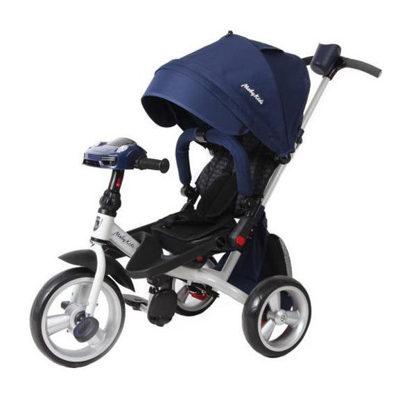 Велосипед детский трехколесный Moby Kids Leader