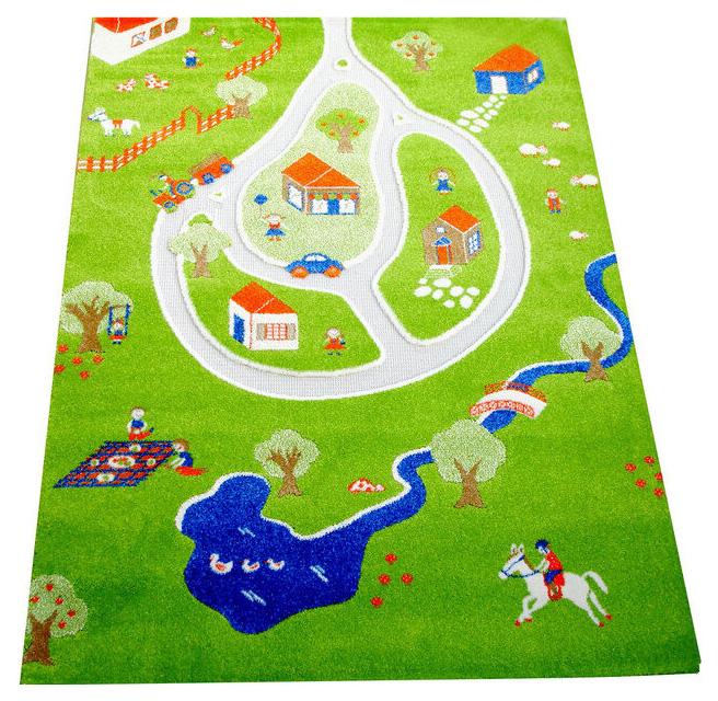 Детский игровой 3D-ковер IVI Дача 100 х 150 см