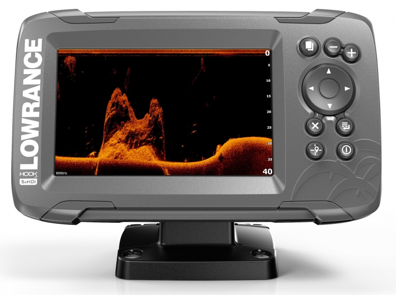 Эхолот Lowrance Hook2 5x GPS SplitShot