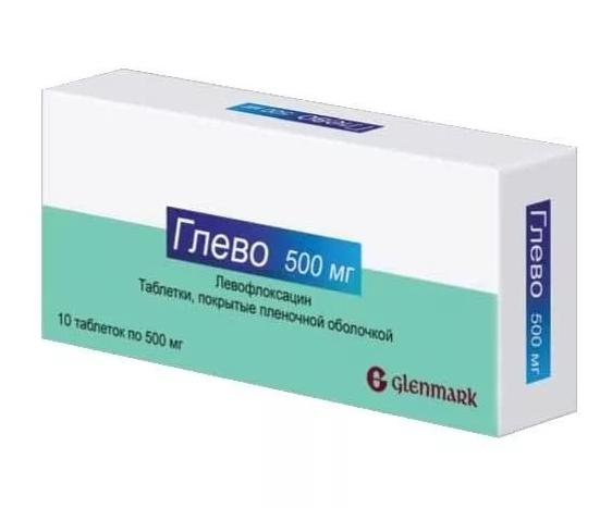 Глево таблетки 500 мг 10 шт.