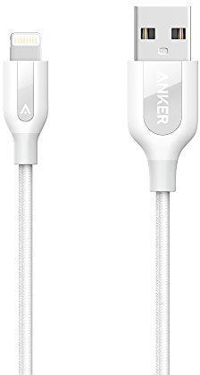 Кабель Anker PowerLine+ Lightning 0,9м White (A8121H21) 0,9m