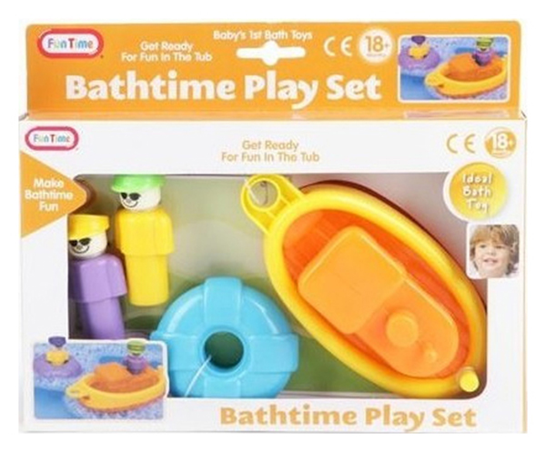 Игрушки для купания Fun Time Лодка спасательный Круг J1005