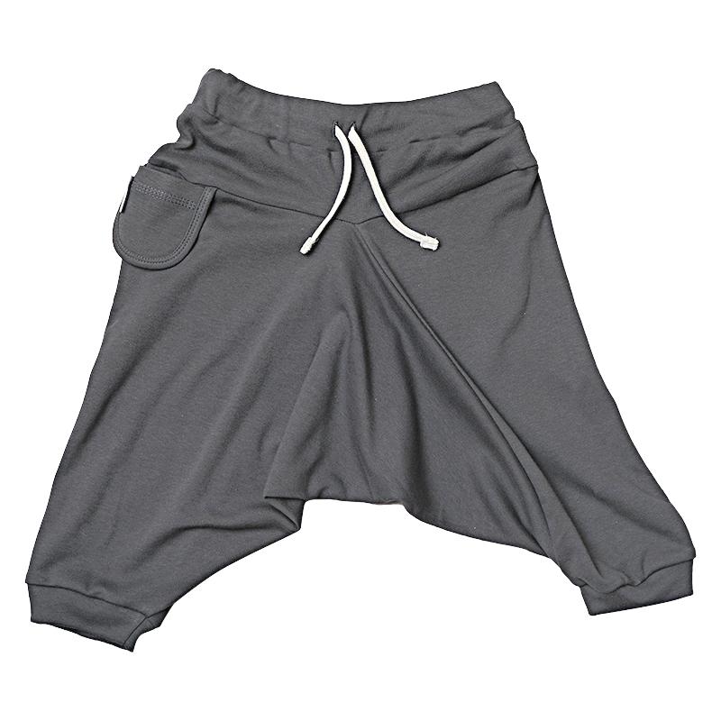 Купить Брюки детские Bambinizon Антрацит ШТ-АНТ р.74 темно-серый, Детские брюки и шорты