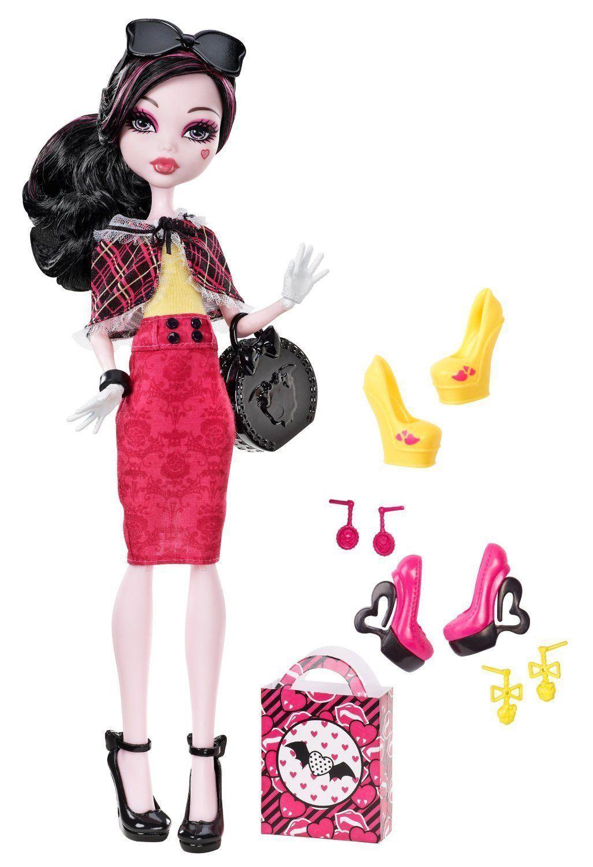 Кукла Monster High Дракулаура - Я люблю обувь BBR91, Классические куклы  - купить со скидкой
