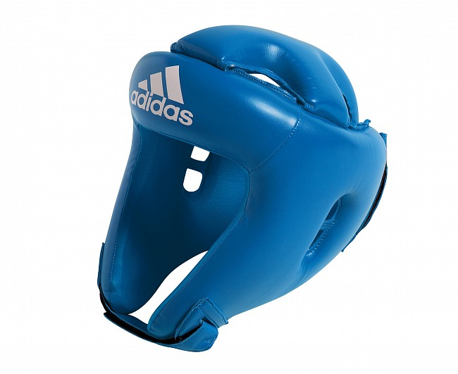 Шлем боксерский Adidas Competition Head Guard синий M фото