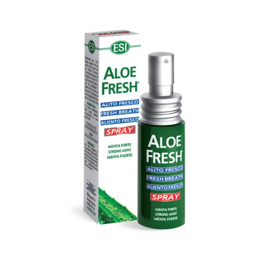 Спрей ALOE FRESH fresh breath эффективно действует против
