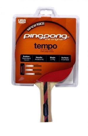 Ракетка для настольного тенниса Ping-Pong T1235 Tempo, красная