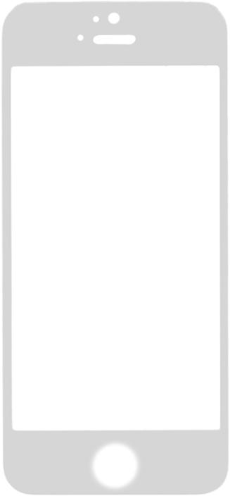 Защитное стекло GOSSO CASES для Apple iPhone 5/iPhone 5C/iPhone 5S/iPhone SE White