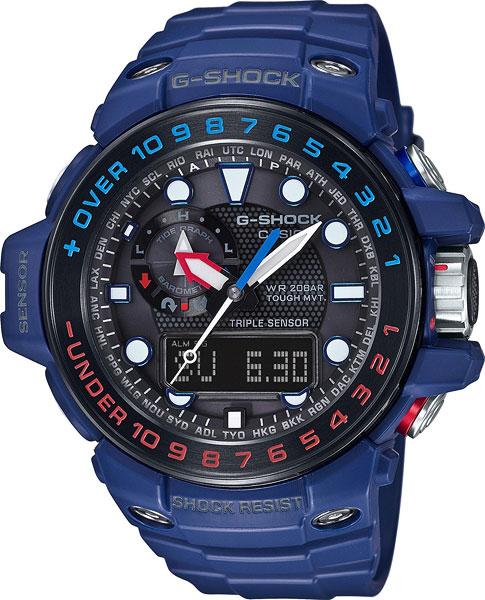 Японские наручные часы Casio G-Shock GWN-1000H-2A с хронографом фото
