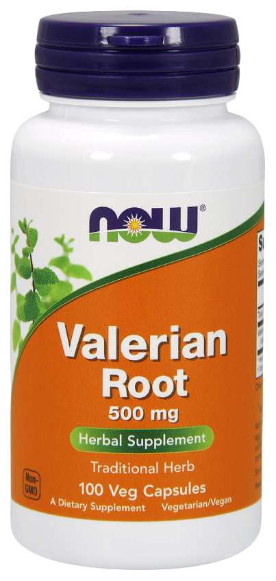 Для нервной системы NOW Valerian Root