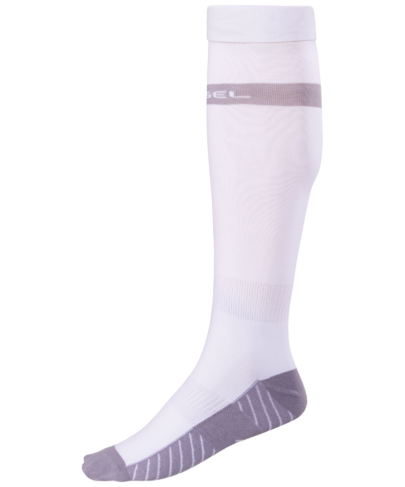 Гетры Jogel JA 003, белые/серые, 42