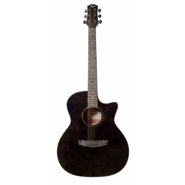 Акустическая гитара FLIGHT GA-150 BK фото