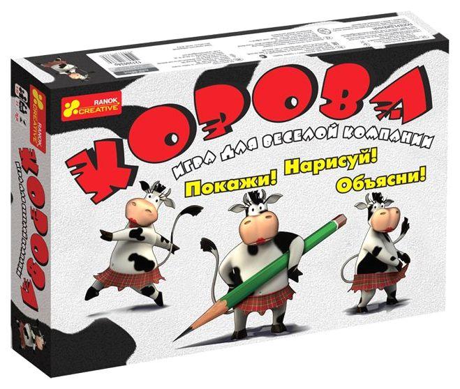 Купить Настольная игра для взрослых Ranok Creative Корова 12120024Р, Ранок, Настольные ролевые игры
