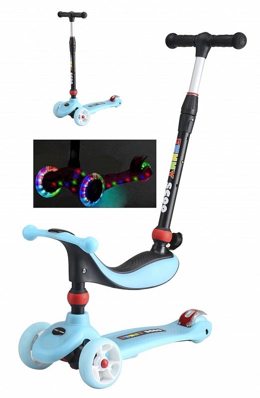 Самокат Funny Scoo MIX Light MS-936 синий