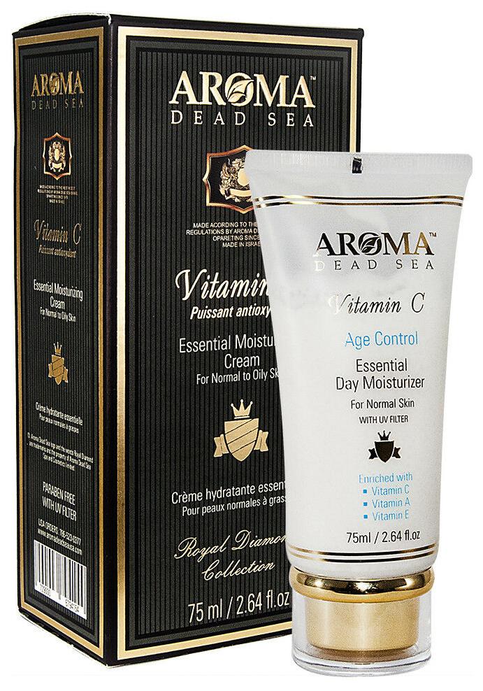 Крем для лица Aroma Dead Sea Essential Moisturizing Cream for Normal to Oily skin 75 мл