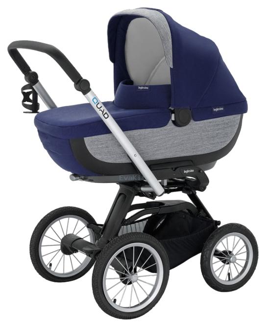 Купить Коляска для новорожденного Inglesina Quad AB60F6ART + AE64G0000 Artic, Коляски для новорожденных