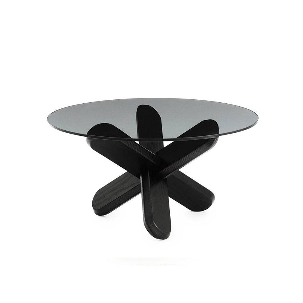 Журнальный стол Normann Copenhagen 40х75х75 см, черный