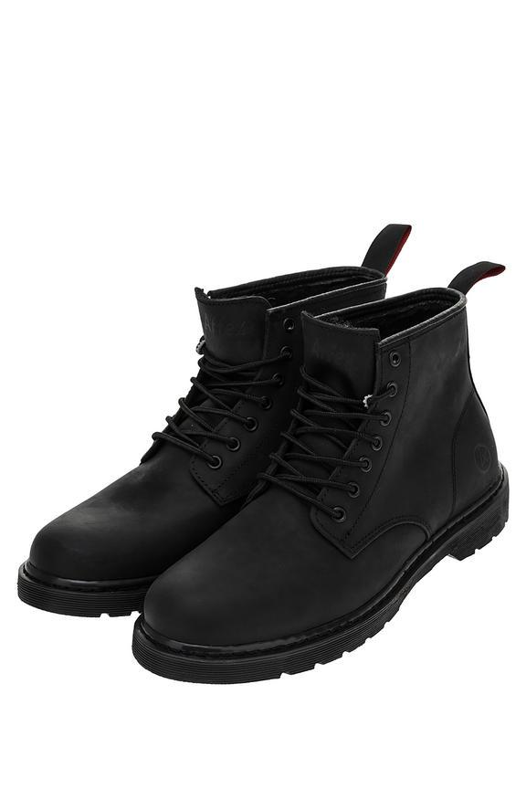 Ботинки мужские черные AFFEX 115-LDN-BLK-M