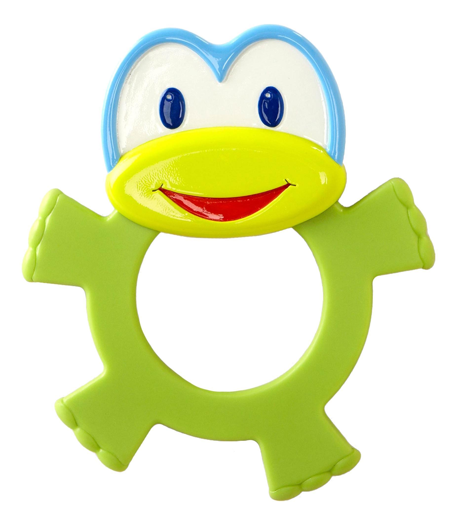Купить Лягушонок, Развивающая Прорезыватель-игрушка – прорезыватель Bright Starts лягушонок,