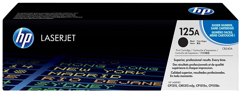 Картридж HP CB540A для CLJ CM1312 CP1215 черный 125А фото