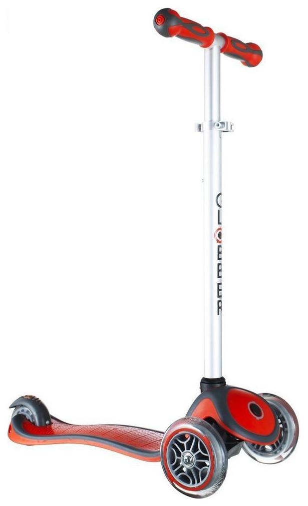 Купить Самокат трехколесный Y-Scoo Globber My free New Technology с блокировкой колес red, Самокаты детские трехколесные