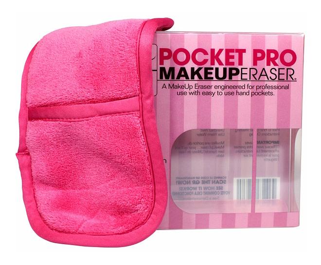 Салфетка MakeUp Eraser для снятия макияжа с карманами
