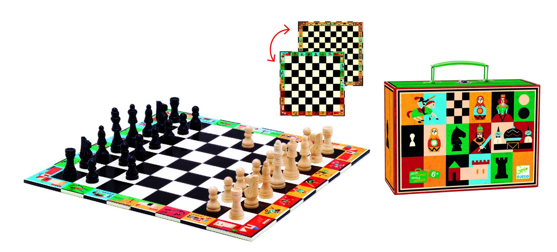 Настольная игра Djeco Шахматы и шашки фото