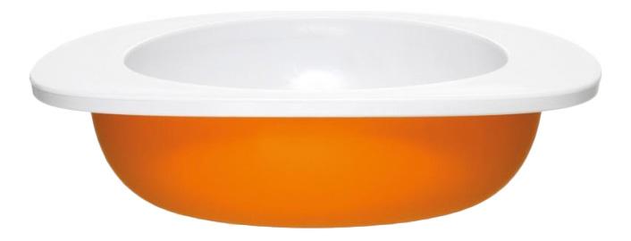 Миска Fabrikators Для малыша оранжевая