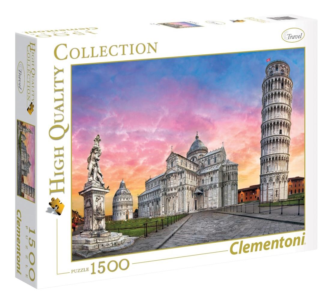 Купить Пазл Clementoni Пизанская башня 1500 деталей, Пазлы