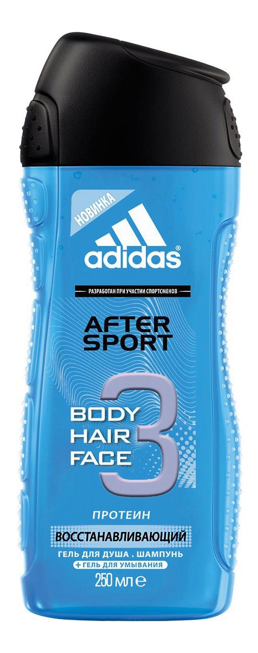 Купить Гель для душа Adidas After Sport 250 мл для мужчин