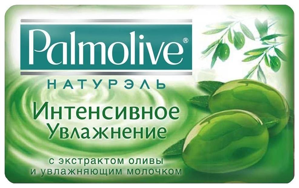 Косметическое мыло Palmolive с экстрактом оливы и увлажняющим молочком 90г фото