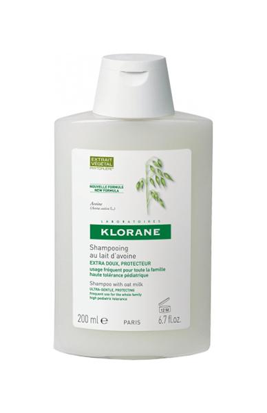 Шампунь Klorane Сверхмягкая защита с молочком овса 200 мл