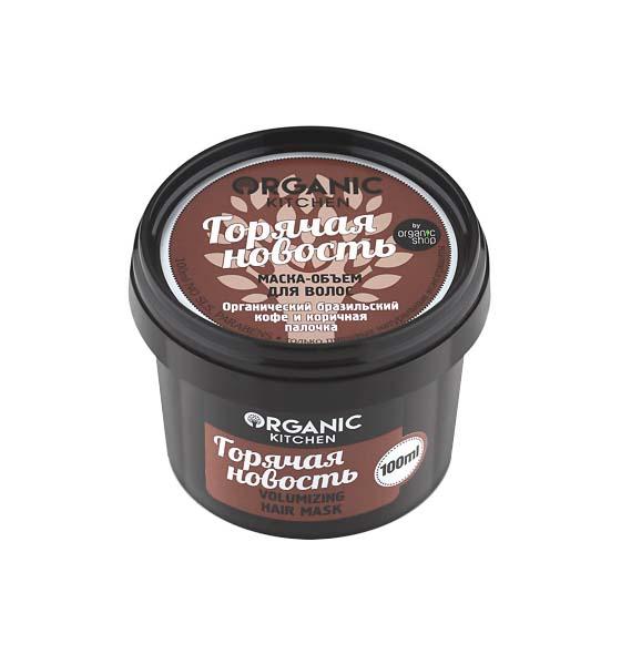 Купить Маска для волос Organic Shop Organic Kitchen Revitalizing Hair Mask Горячая новость 100 мл, kitchen Organic Kitchen Revitalizing Hair Mask 'Горячая новость'