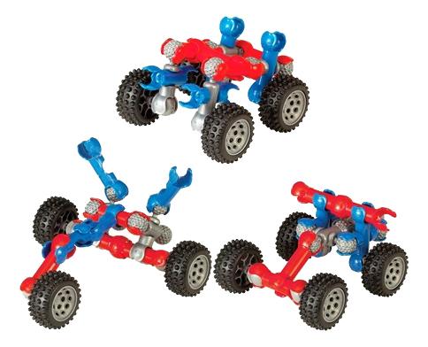 Купить Конструктор пластиковый Zoob Mobile Mini 4-Wheeler, Конструкторы пластмассовые