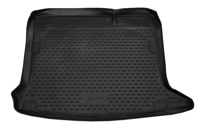 Коврик в багажник RENAULT Sandero/Sandero Stepway, 2014->, хб,, 1 шт, (полиуретан) фото