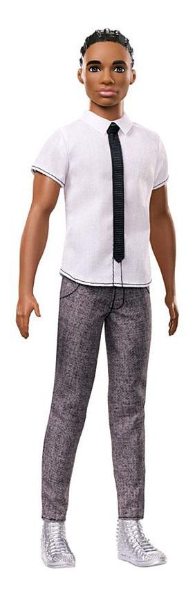 Купить Кукла Barbie Fashionistas Кен в модных брючках и галстуке,
