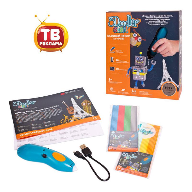 Купить Ручка 3D 3Doodler Start базовый набор, 3D ручки